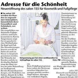 10.03.2010 – Salon 155 in der Leipziger Rundschau